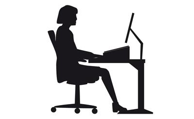 Am nagement ergonomique pour travail devant cran gdle for Norme ergonomique bureau