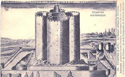 Le ch teau d 39 etampes puissance et autorit royale gdle for Chateau etampes